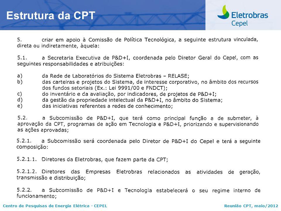 Estrutura da CPT