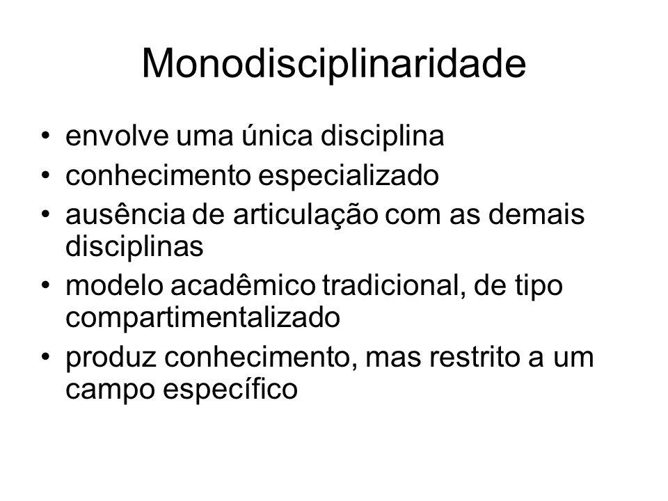 Monodisciplinaridade