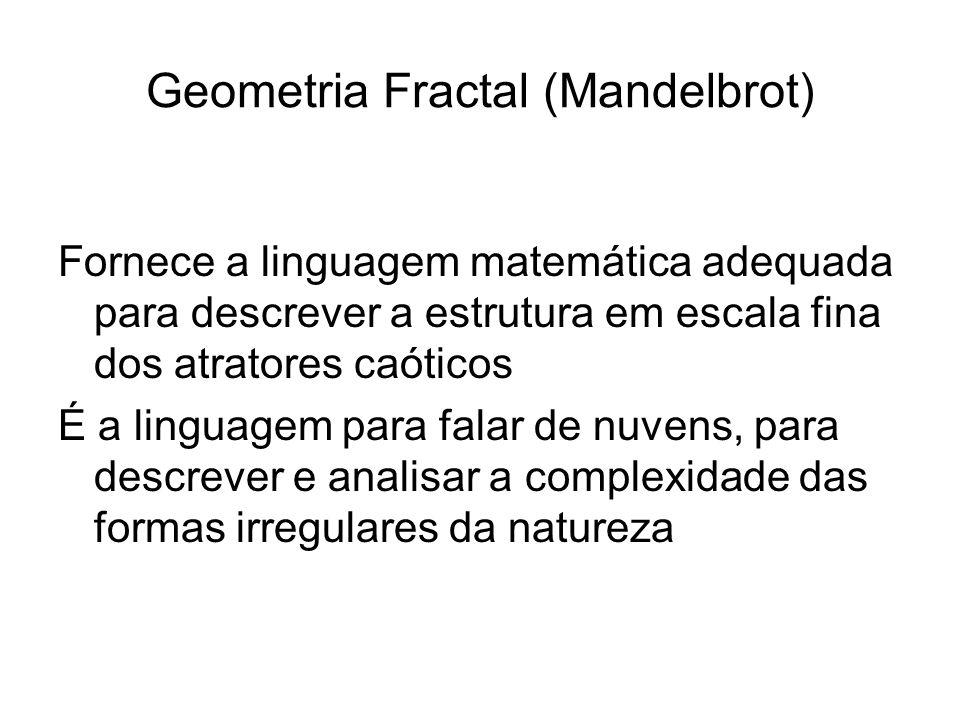 Geometria Fractal (Mandelbrot)