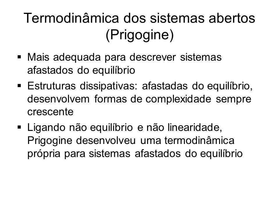 Termodinâmica dos sistemas abertos (Prigogine)