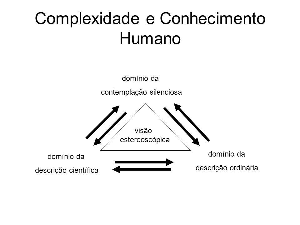 Complexidade e Conhecimento Humano