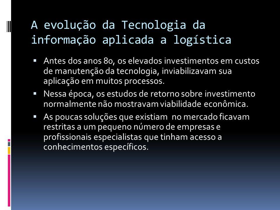 A evolução da Tecnologia da informação aplicada a logística