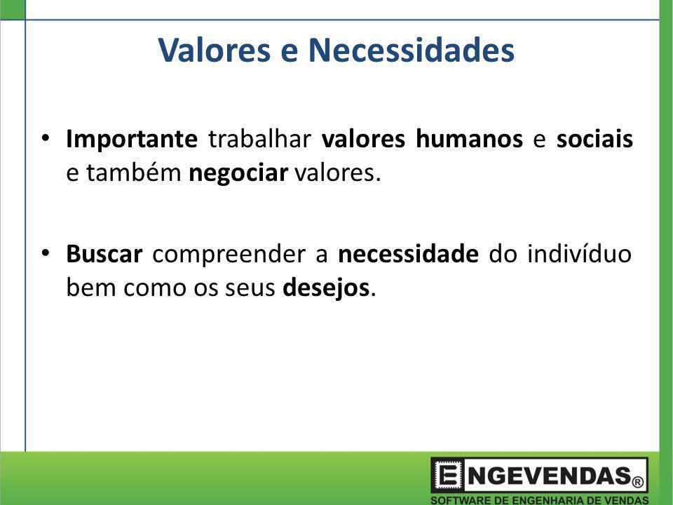 Valores e Necessidades