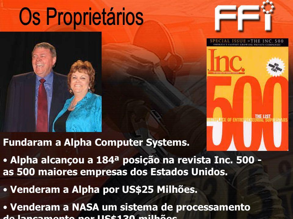 Os Proprietários Fundaram a Alpha Computer Systems.