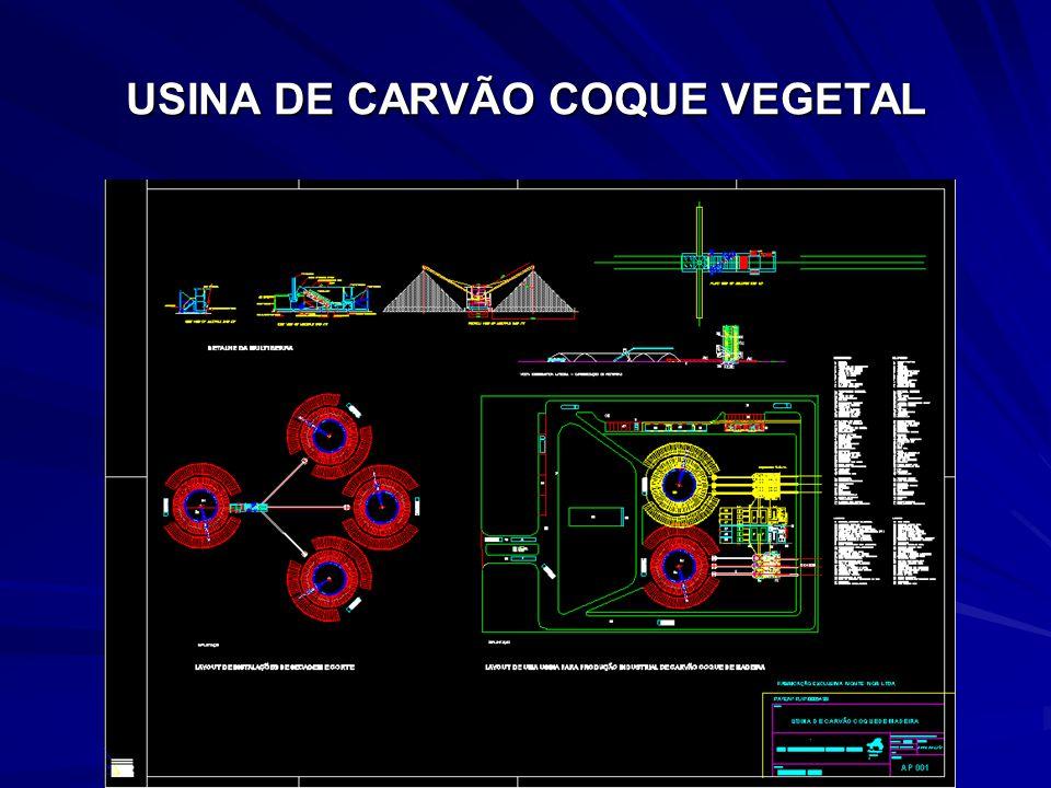 USINA DE CARVÃO COQUE VEGETAL