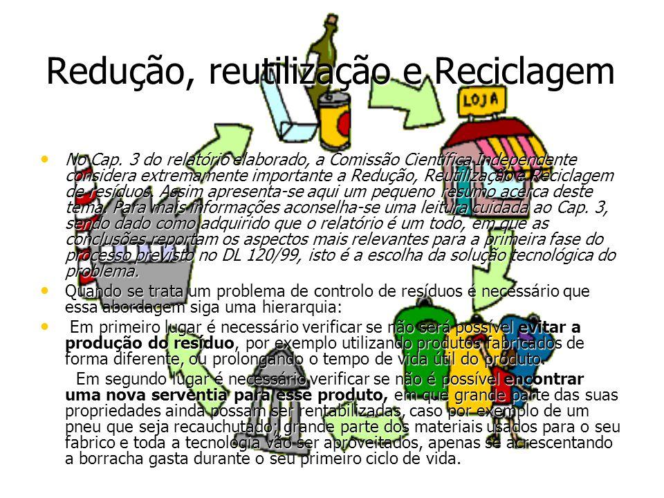 Redução, reutilização e Reciclagem