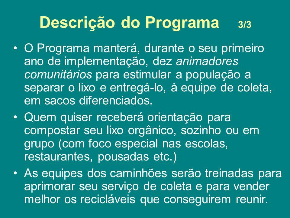 Descrição do Programa 3/3