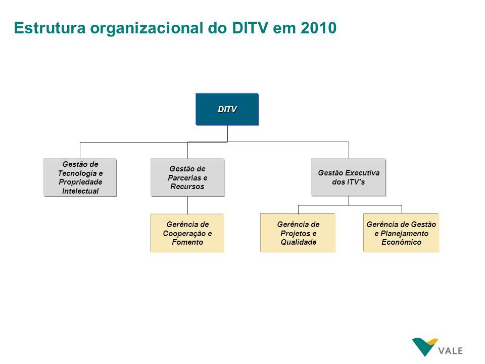 DITV WAY Como o DITV se estrutura para desenvolver suas iniciativas