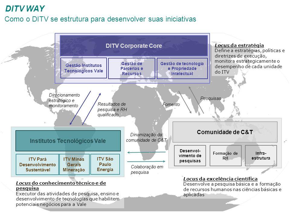 Principais stakeholders do DITV
