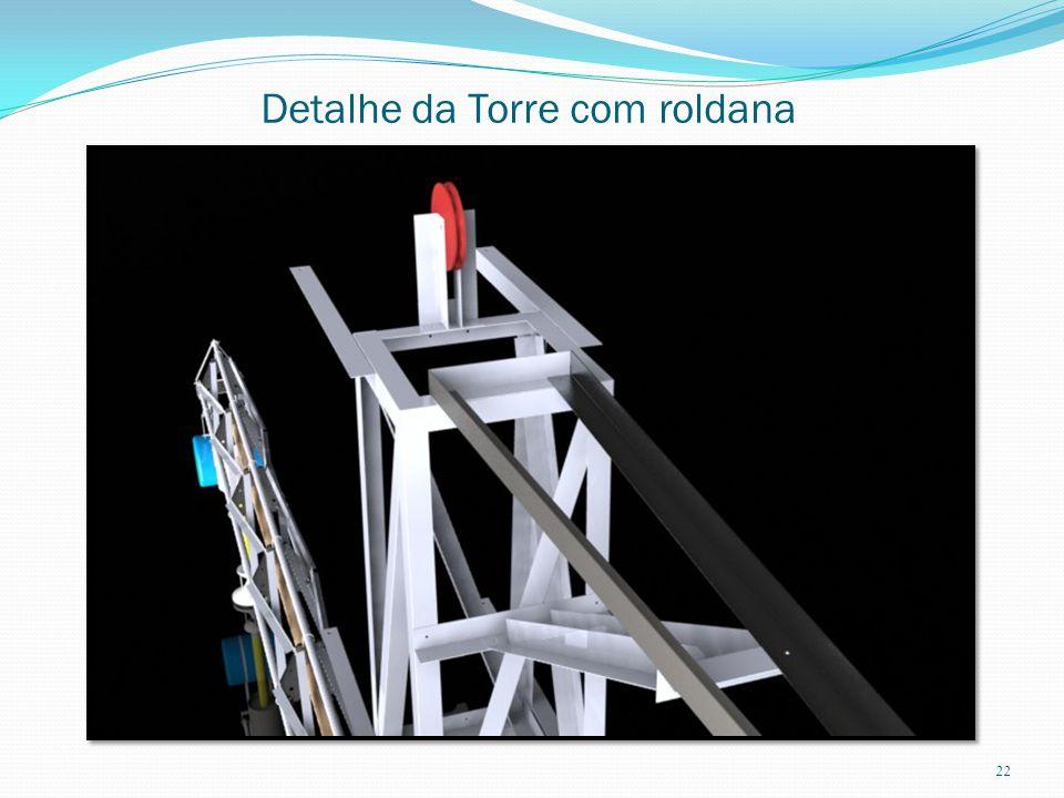 Detalhe da Torre com roldana