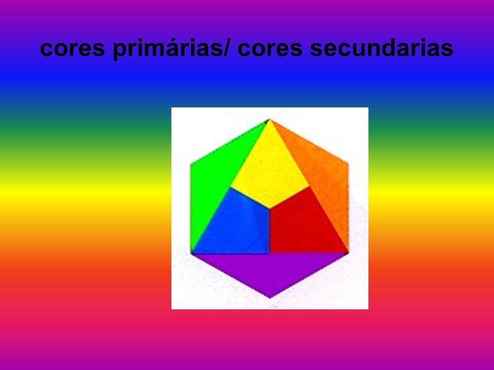 cores primárias/ cores secundarias