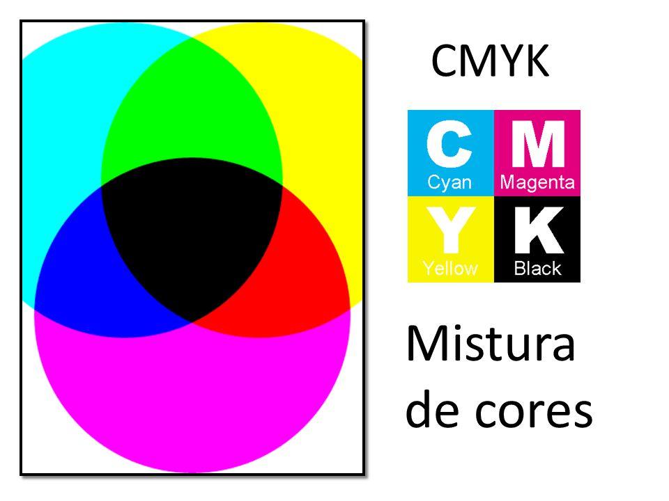 CMYK Mistura de cores
