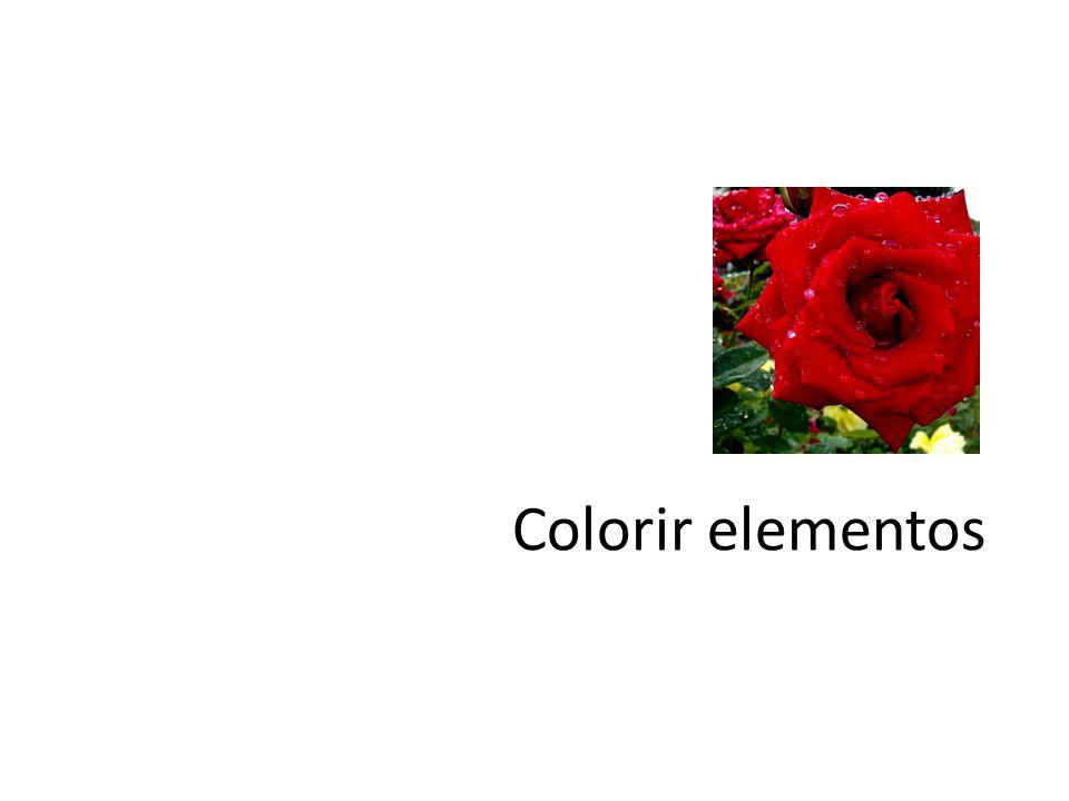 Colorir elementos