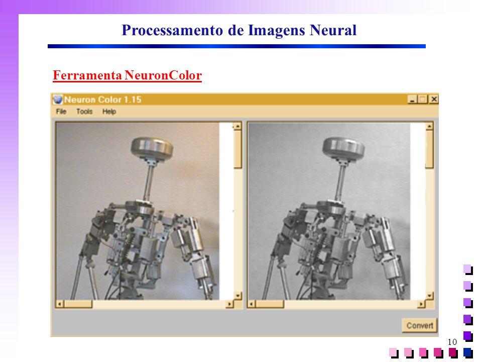 Processamento de Imagens Neural Ferramenta NeuronColor