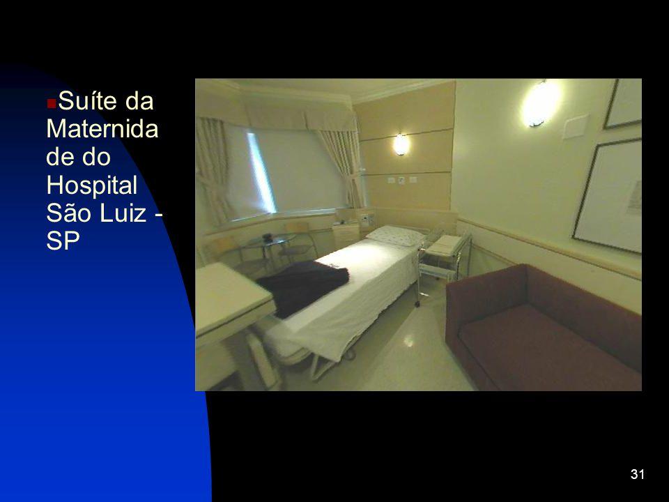 Suíte da Maternidade do Hospital São Luiz - SP