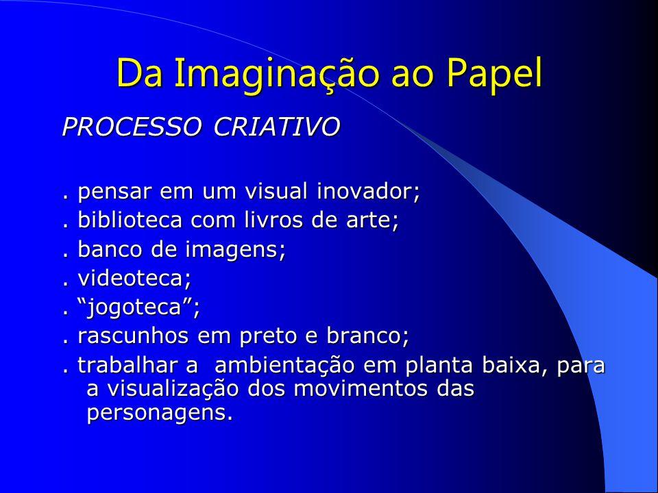 Da Imaginação ao Papel PROCESSO CRIATIVO