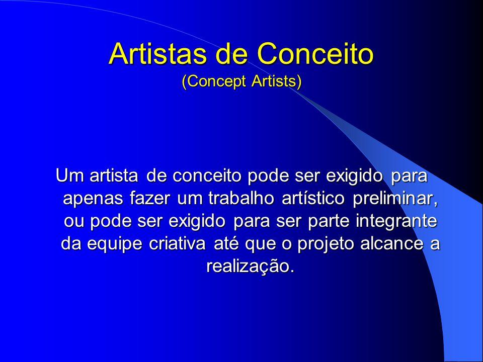 Artistas de Conceito (Concept Artists)