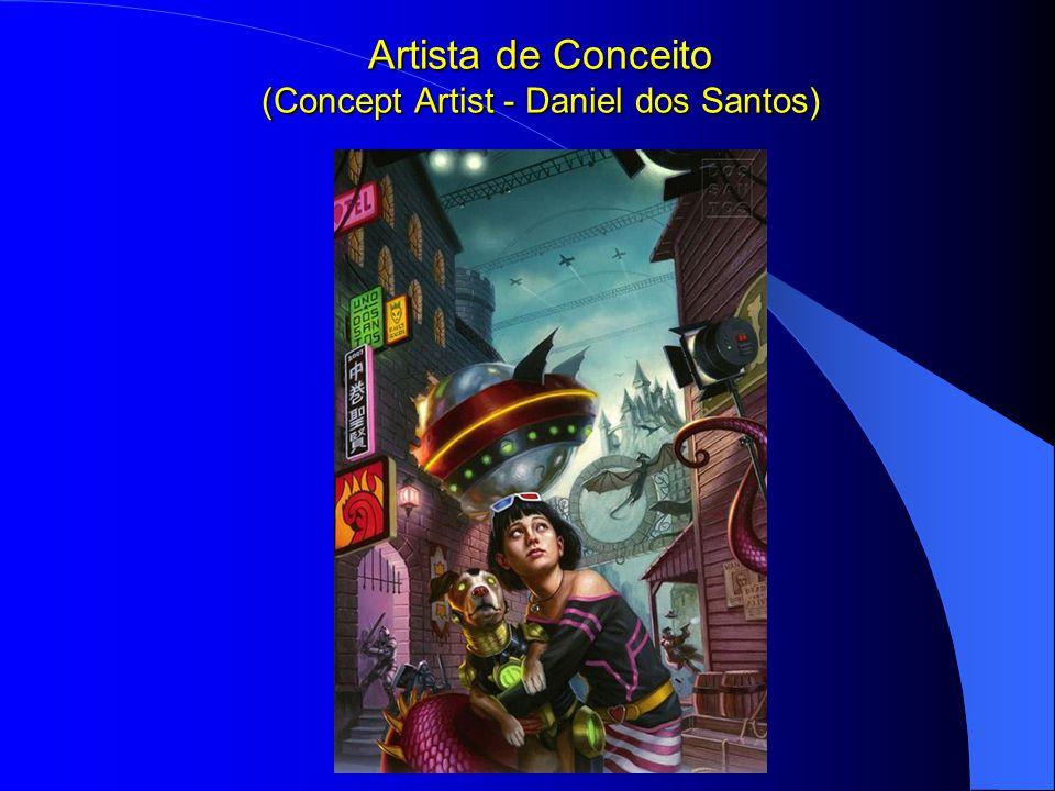 Artista de Conceito (Concept Artist - Daniel dos Santos)