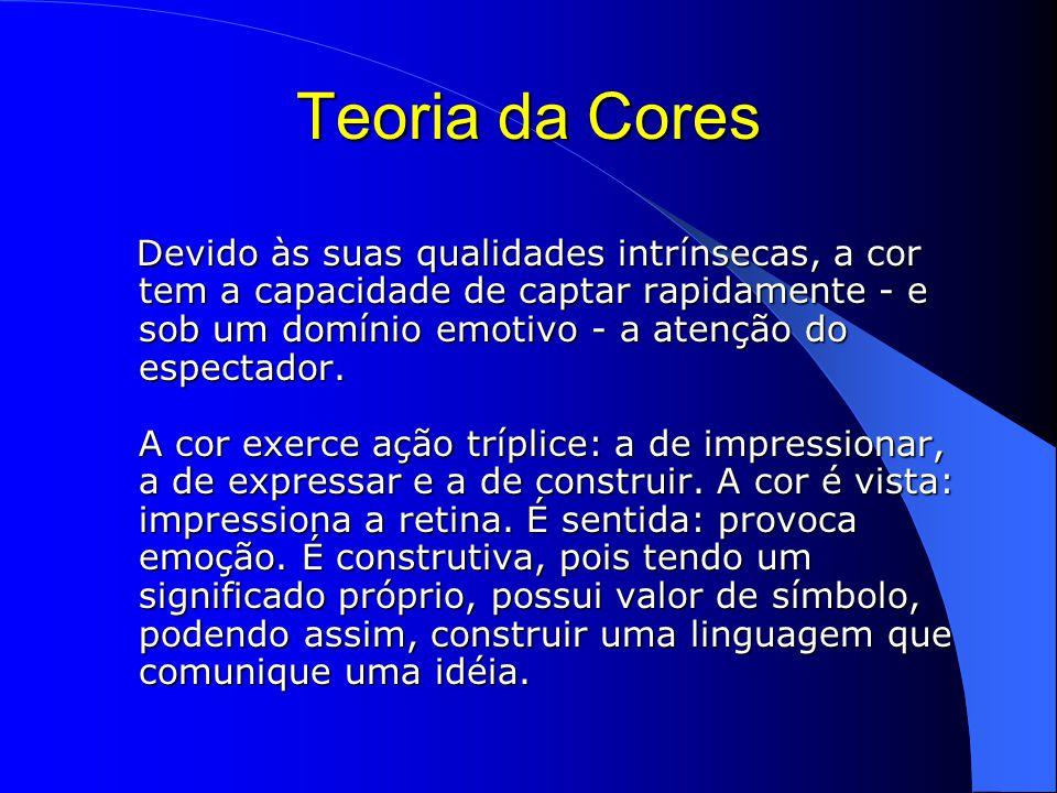 Teoria da Cores