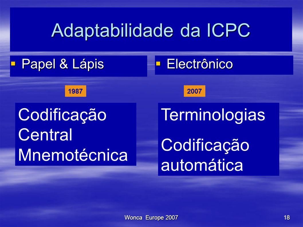 Adaptabilidade da ICPC