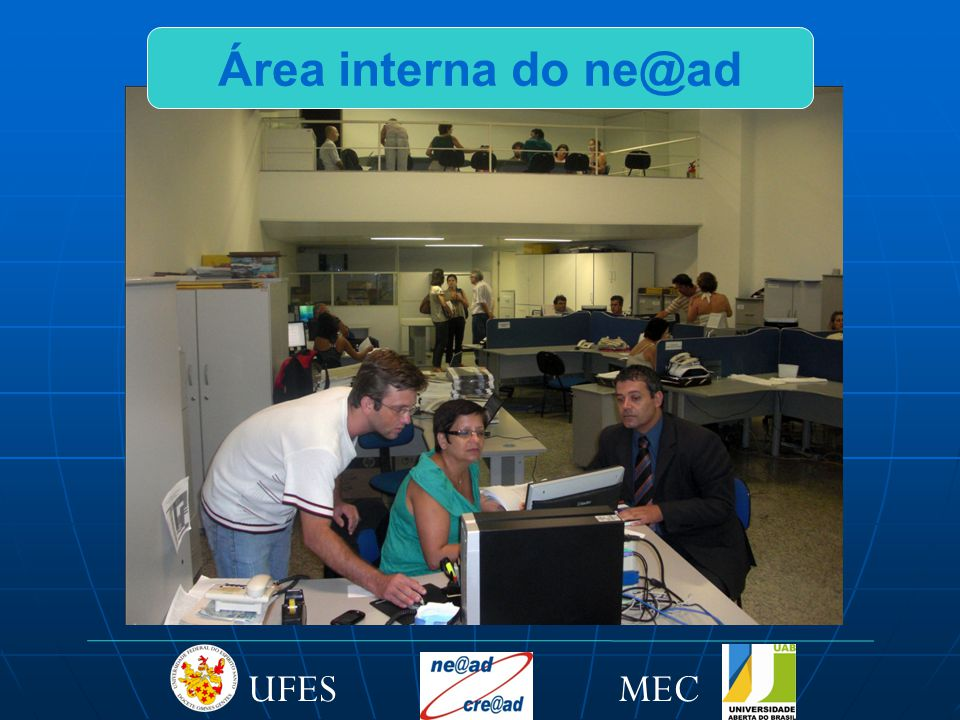Área interna do ne@ad MEC UFES
