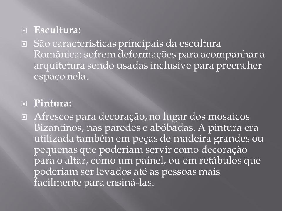 Escultura: