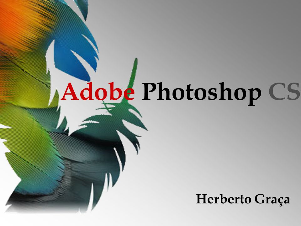 Adobe Photoshop CS Herberto Graça