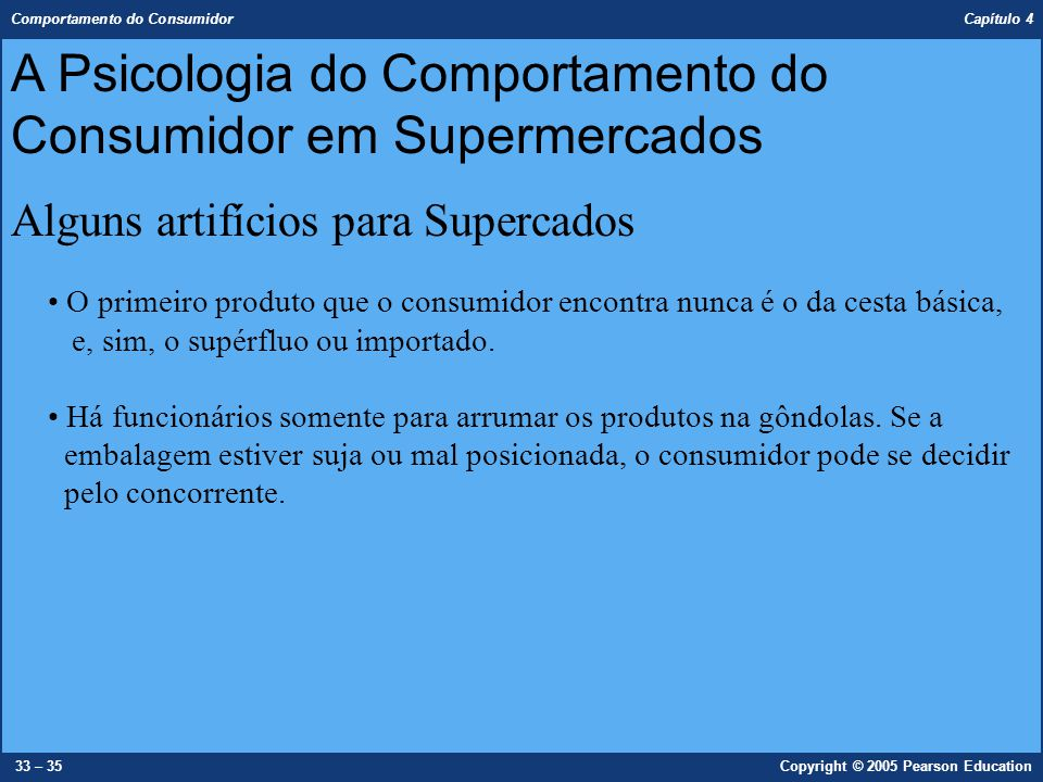 A Psicologia do Comportamento do Consumidor em Supermercados