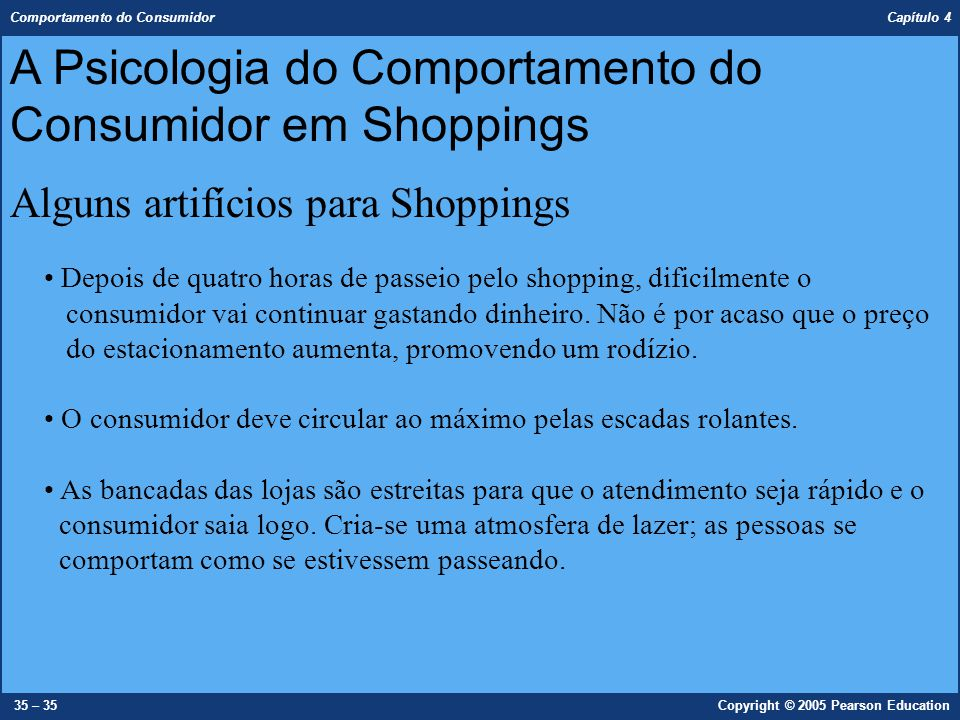 A Psicologia do Comportamento do Consumidor em Shoppings