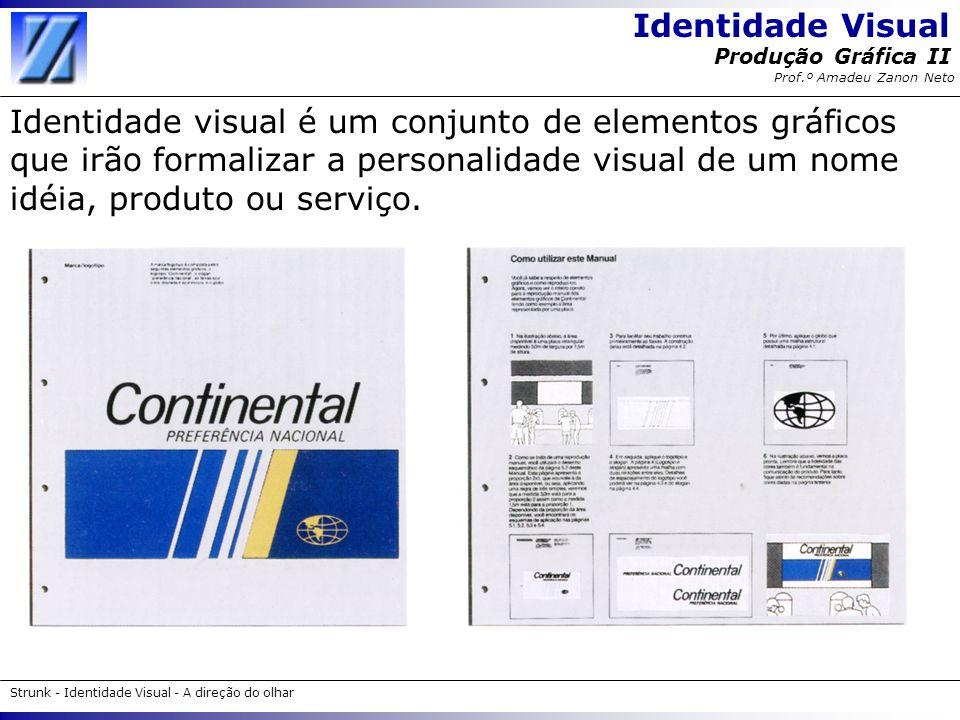 Identidade visual é um conjunto de elementos gráficos