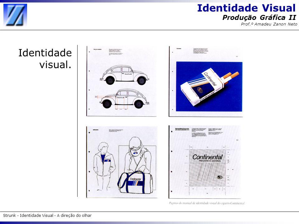 Identidade visual.