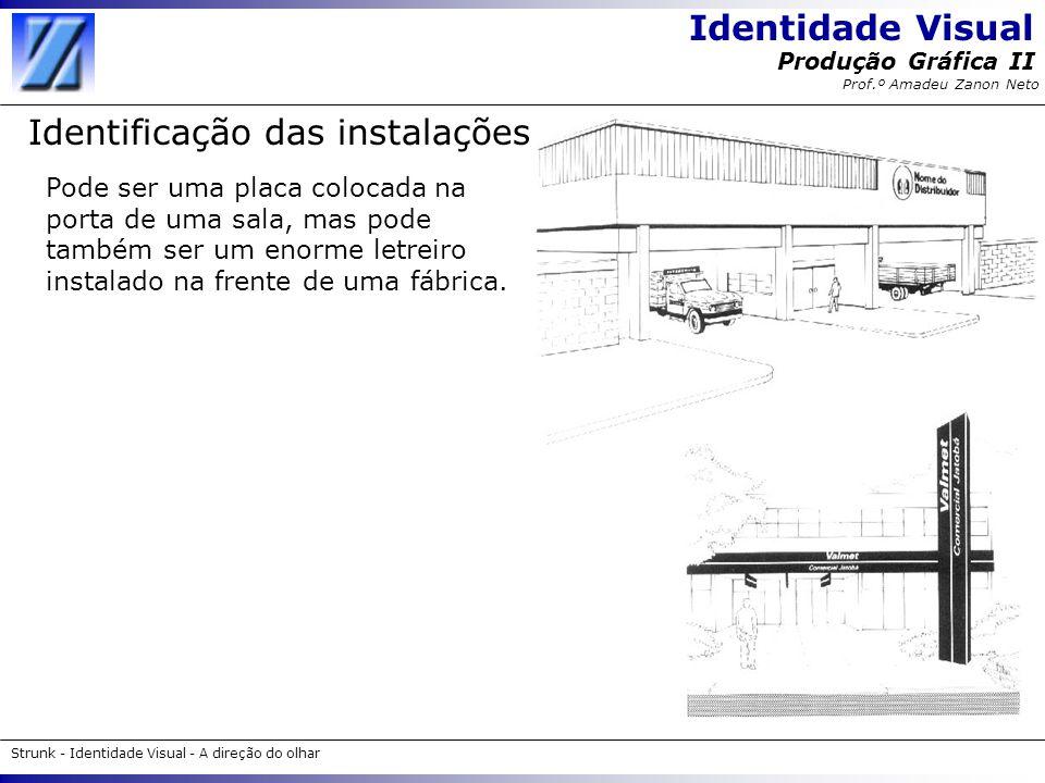 Identificação das instalações