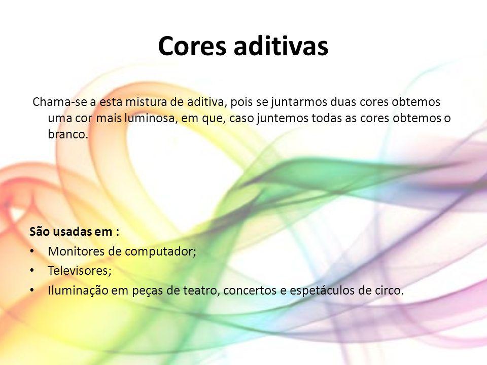 Cores aditivas