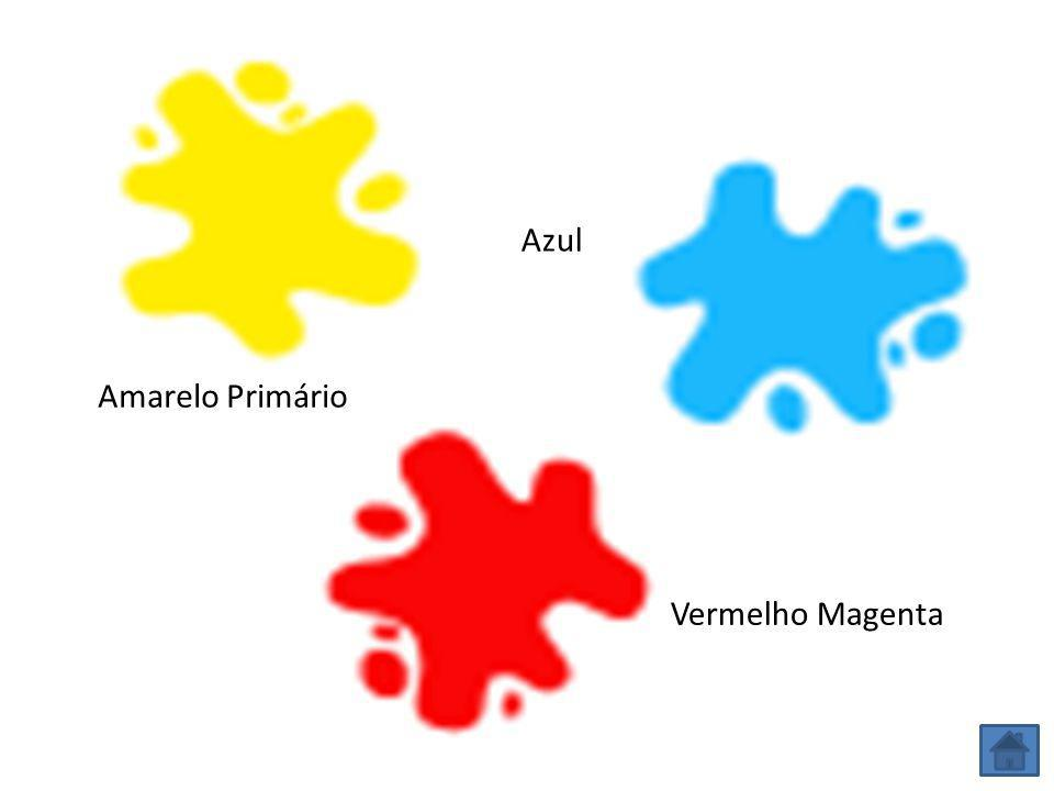 Azul Amarelo Primário Vermelho Magenta