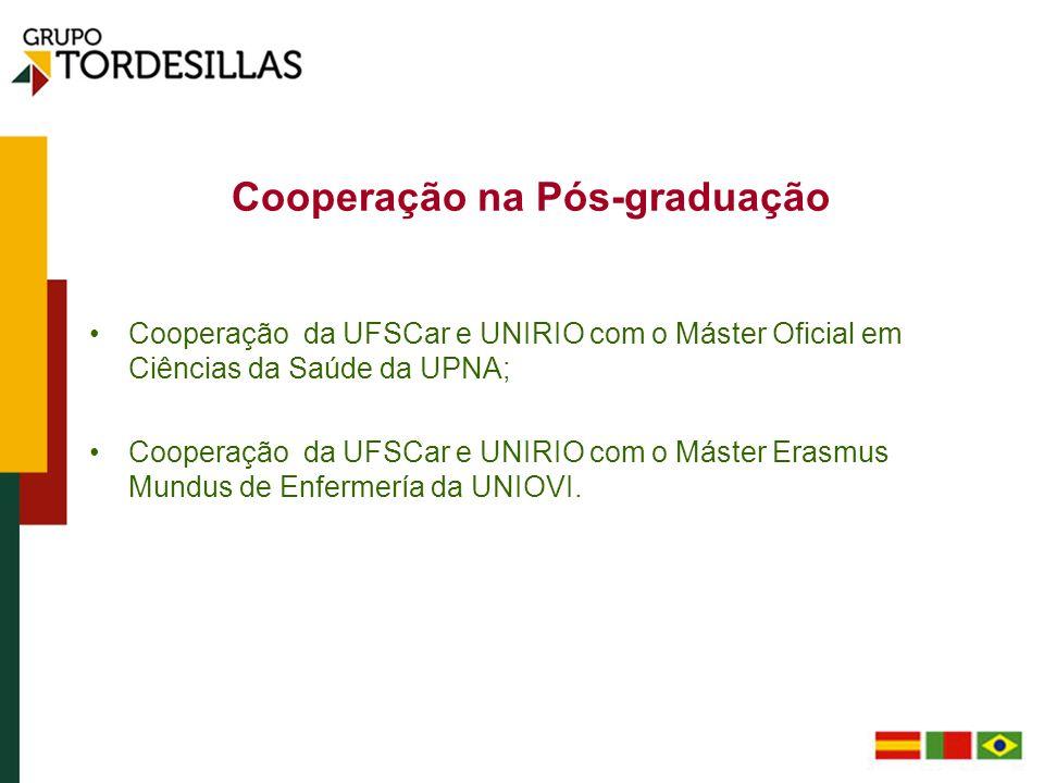 Cooperação na Pós-graduação