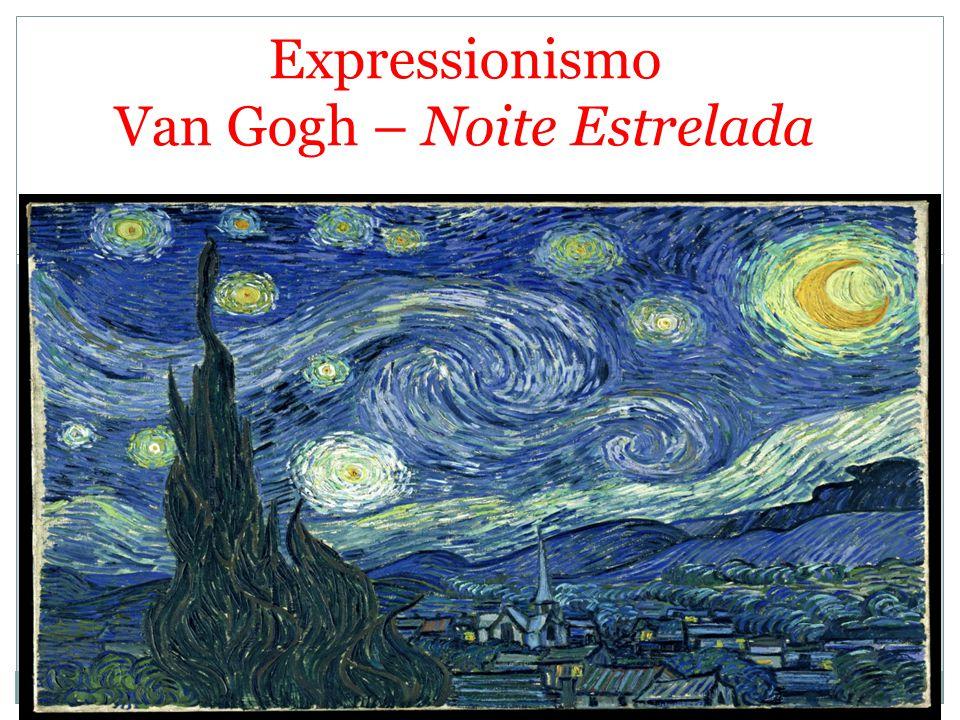 Expressionismo Van Gogh – Noite Estrelada