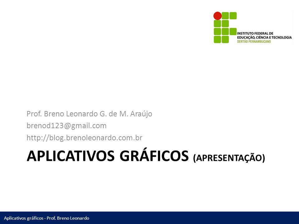 Aplicativos gráficos (Apresentação)
