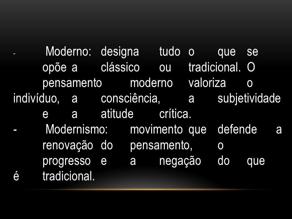 indivíduo, a consciência, a subjetividade e a atitude crítica.