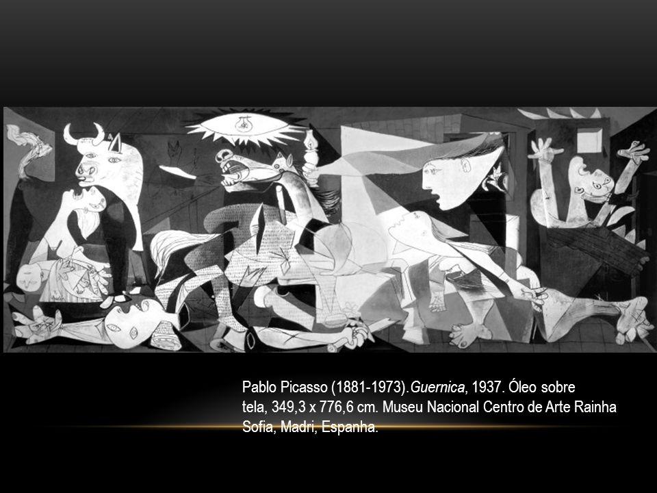 Pablo Picasso (1881-1973).Guernica, 1937. Óleo sobre