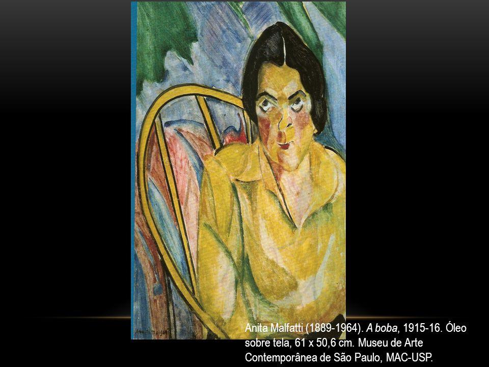 Anita Malfatti (1889-1964). A boba, 1915-16