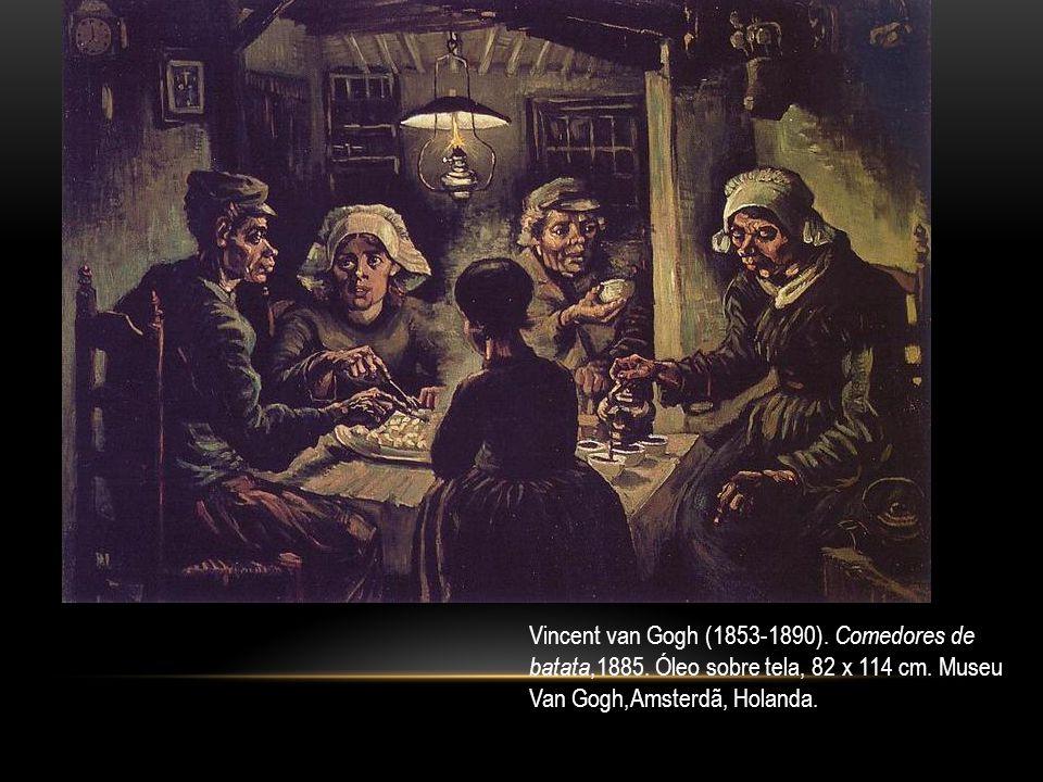 Vincent van Gogh (1853-1890). Comedores de batata,1885