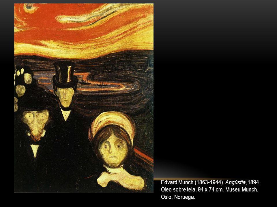 Edvard Munch (1863-1944). Angústia, 1894.