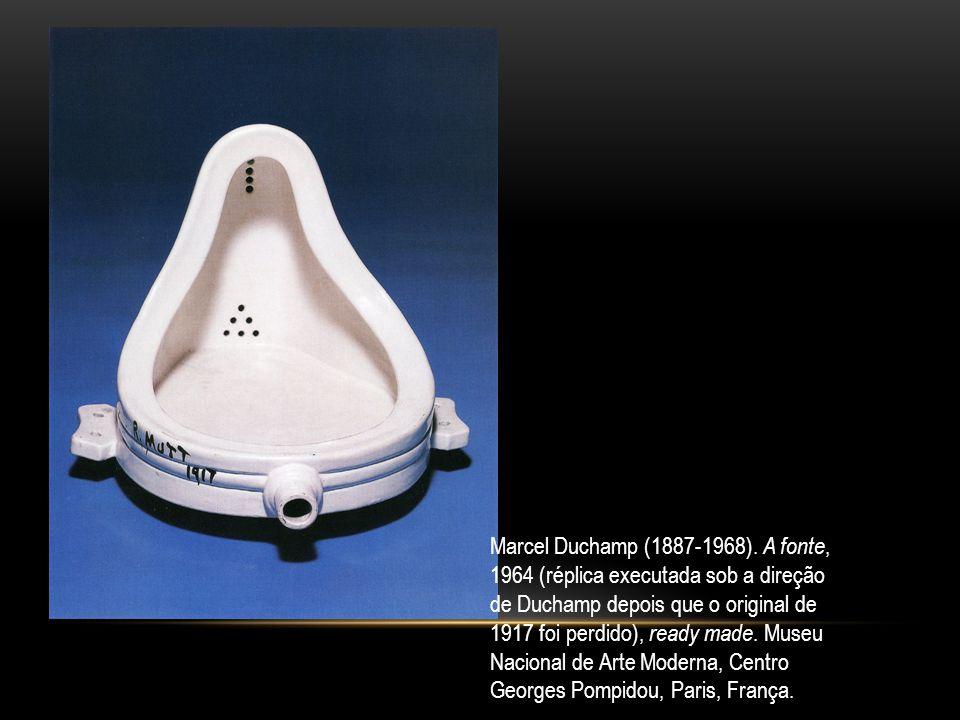 Marcel Duchamp (1887-1968). A fonte,