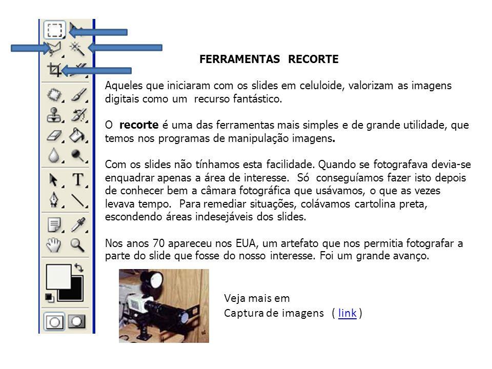 Captura de imagens ( link )