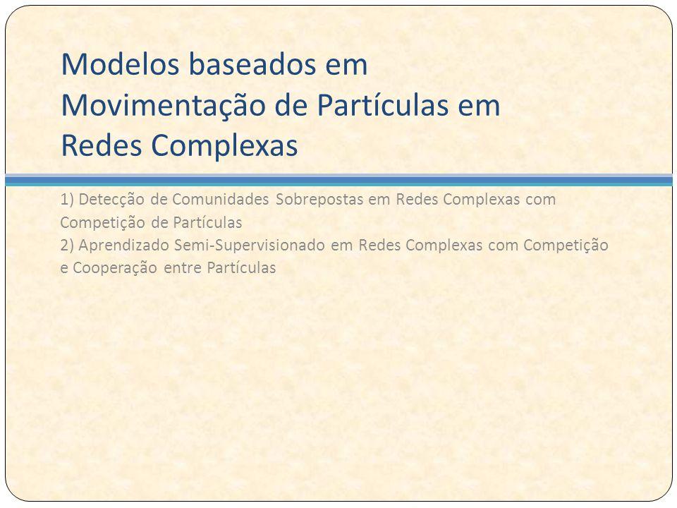 Modelos baseados em Movimentação de Partículas em Redes Complexas