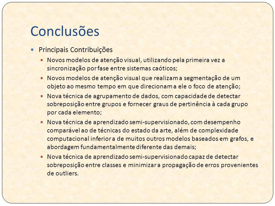 Conclusões Principais Contribuições
