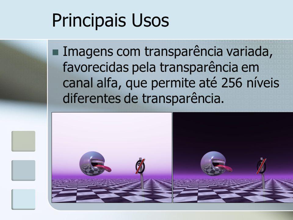 Principais Usos