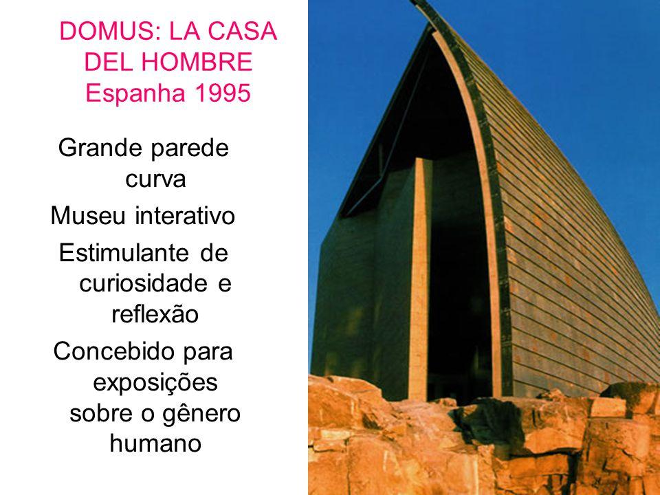 DOMUS: LA CASA DEL HOMBRE Espanha 1995