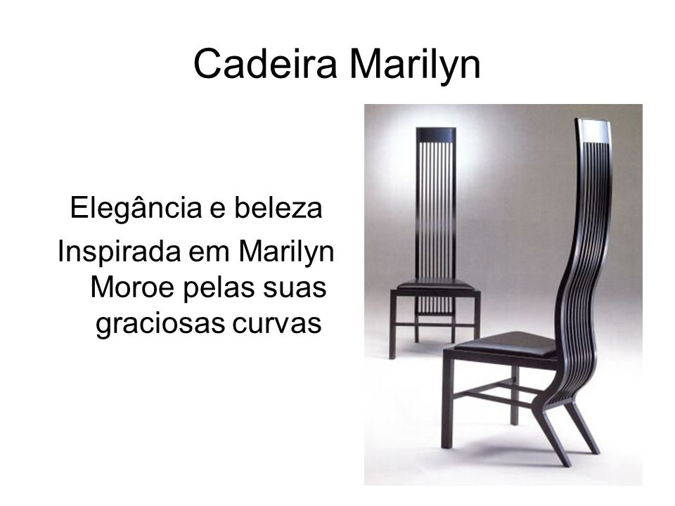 Inspirada em Marilyn Moroe pelas suas graciosas curvas