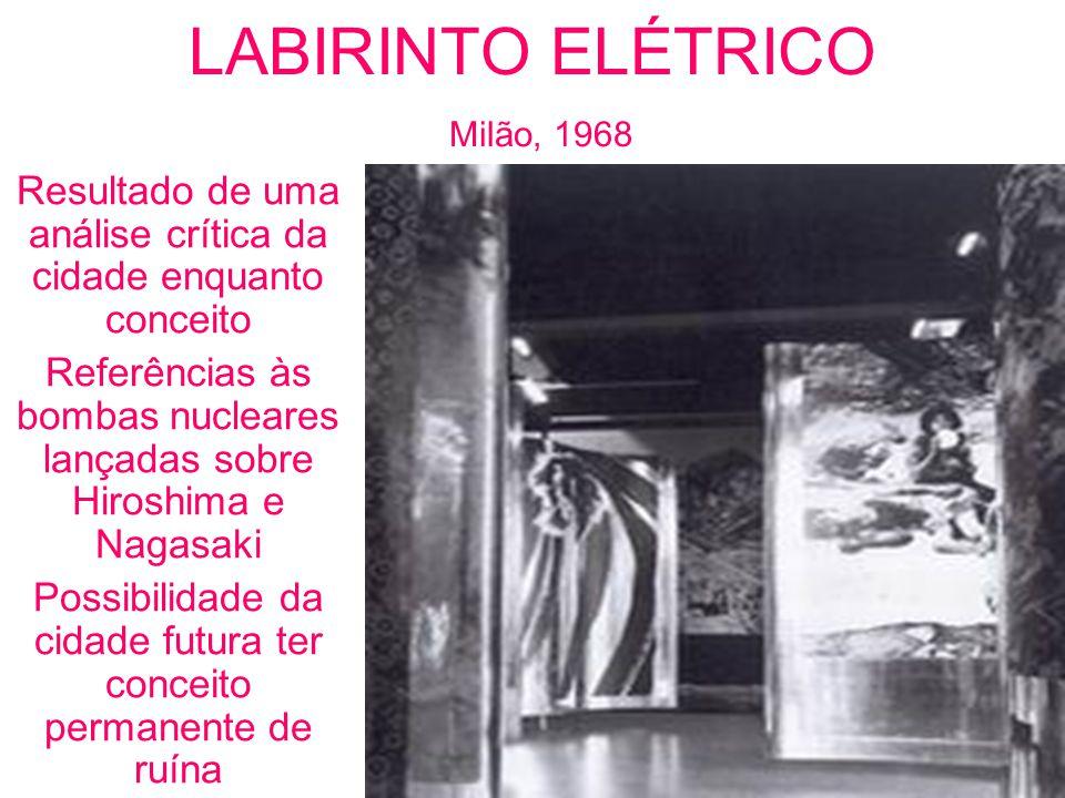 LABIRINTO ELÉTRICO Milão, 1968
